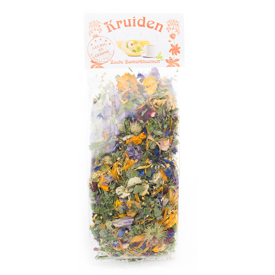 kruidenthee zoete zomerbloemen kruiden